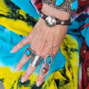 Indian Head Nickel Leather Friendship Bracelet